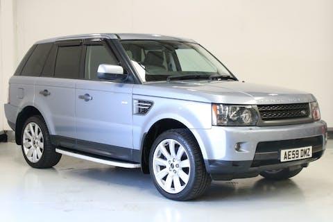 Blue Land Rover Range Rover Sport 3.0 Tdv6 Hse 2009