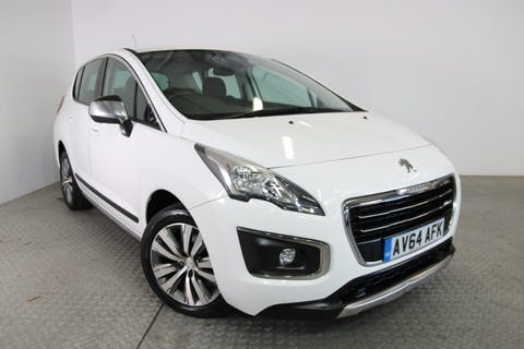 White Peugeot 3008 1.6 HDi Active 2014