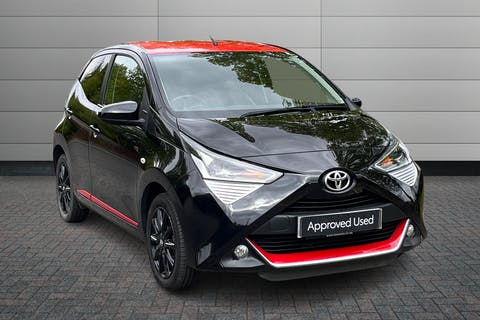 Black Toyota Aygo VVT-i x-press 2018