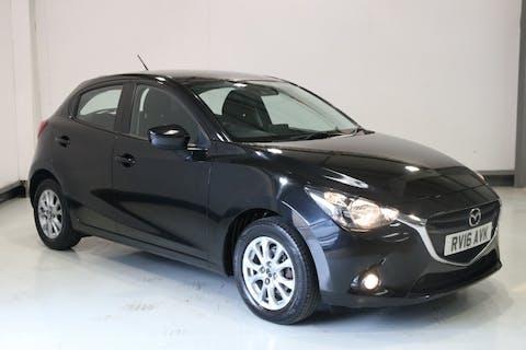 Black Mazda 2 1.5 D Se-l Nav 2016