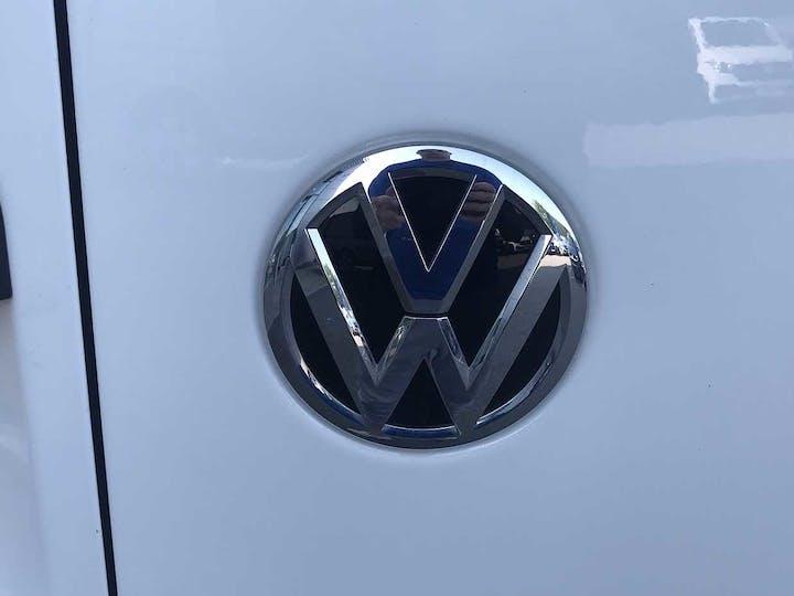 White Volkswagen Transporter T28 TDI P/v Startline 2019