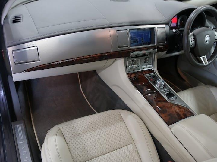 Grey Jaguar XF 3.0 V6 Premium Luxury 2010